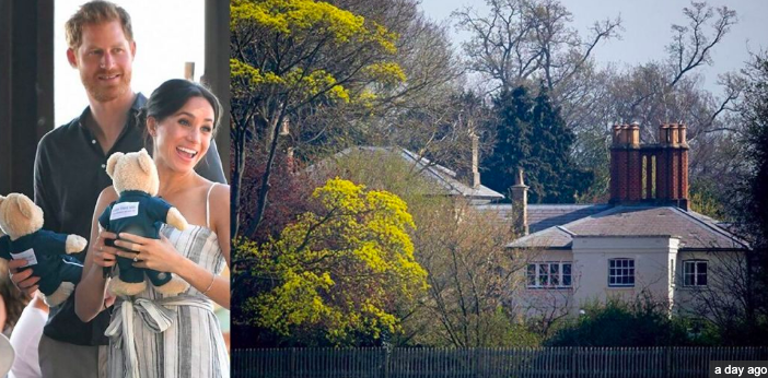 Exclusive! Meghan Markle: Inside the Home of a Princess