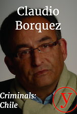 Criminals Chile: Claudio Borquez
